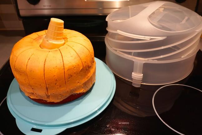Recette d 39 automne avec pomme et citrouille caroline schoofs ma vie en tupperware - Cuisiner avec tupperware ...